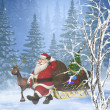 Stock Photo: Santa is coming 3