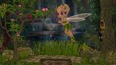 Rosa Bella's fairy world — Stock Photo