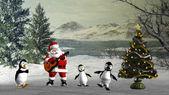 Christmas dance — Stock Photo