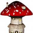 Stock Photo: Mushroom House