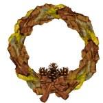 Autumn Wreath — Stock Photo