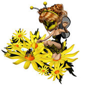 Bee Fairy 3 — Stock Photo