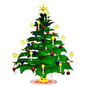 Christmastree 2 — Stock Photo