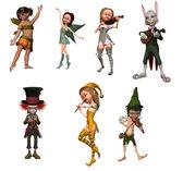 Fairy figurines — Stock Photo