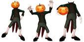Pumpkin Creature — Stock Photo