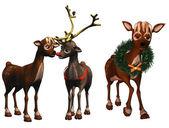 Rudolph and rhonda — Stock Photo
