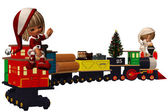 Christmas Express — Stock Photo