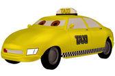 Yellow Taxi — Foto Stock