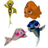 Toon fish — Stock Photo