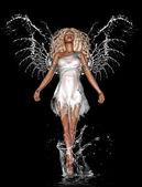 水天使 — 图库照片