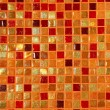 ceramic glass colorful tiles mosaic composition — Stock Photo