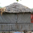 Cabin palapa hut wooden traditional Mexico house - Stock Photo