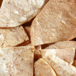 Corn nachos totopos tortilla Mexican food - Stock Photo