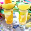 Royalty-Free Stock Photo: Tequila salt lemon alcohol mexican drink