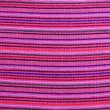Mexican serape vibrant pink macro fabric texture — Stock Photo