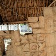 Chichen Itza hieroglyphics Mayan ruins Mexico - Stock Photo