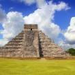 Ancient Chichen Itza Kukulcan Mayan Pyramid - Stock Photo