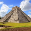 Chichen Itza Kukulcan Mayan Pyramid El Castillo - Stock Photo