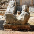 Stock Photo: Chac Mool Chichen Itzfigure Mexico Yucatan