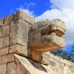 奇琴伊察蛇玛雅遗址墨西哥尤卡坦半岛 — 图库照片
