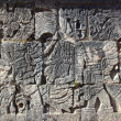 Chichen Itzhieroglyphics maypok-ta-pok ball court — Stock Photo #5282960