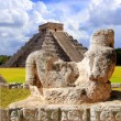 Stock Photo: Ancient Chac Mool Chichen Itzfigure Mexico
