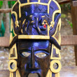 Mayan wood mask with jaguar Yucatan Mexico - ストック写真