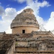 Stock Photo: Caracol Mayobservatory Chichen ItzMexico