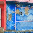 Colorful Caribbean houses tropical Isla Mujeres — Stock Photo #5283071