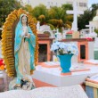 Caribbean cemetery catholic angel saints figures - Stock fotografie