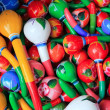 Stock Photo: Colorful maracas from Mexico handcraft painted