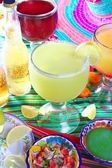 Margarita sex on the beach cocktail beer tequila — Stock Photo