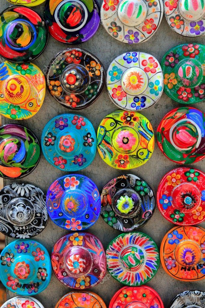 Armario Nilko ~ México Maia artesanato tradicional chapéu u2014 Fotografias de Stock u00a9 lunamarina #5282906