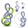Musical note — Vector de stock #5192448