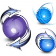 Royalty-Free Stock Vector Image: Abstract spheres