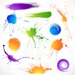 Paint splashes — Stock Vector #5199755