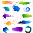 Paint splashes — Stock Vector #5199759