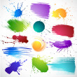 Paint splashes — Stock Vector #5199766