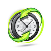 Illustration of hours — Stock Vector
