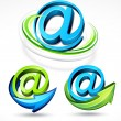 Mail symbol - Stock Vector
