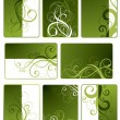 Decorative works for the text — Stock Vector #5268346