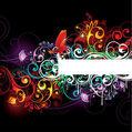 Renkli vektör kompozisyon — Stok Vektör