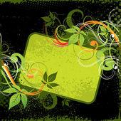 Vegetative background — Stock Vector