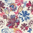 Royalty-Free Stock Vektorgrafik: Floral vector texture