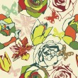 Royalty-Free Stock  : Floral vector texture