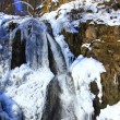 Frozen water fall — Stock Photo