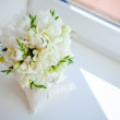 Beautiful bouquet of the bride — Stock Photo