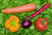 Food of the vegetarian — Stock Photo