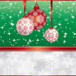 Christmas background — Stock Vector #5190661