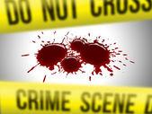 Crime scene 3 — Stock Photo